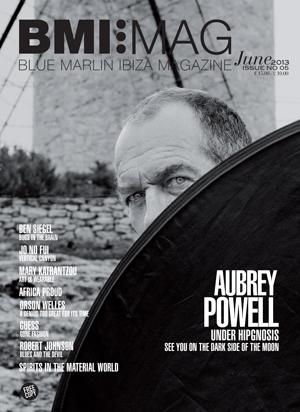 Portada del número de junio de 'Blue Marlin Ibiza Magazine'.
