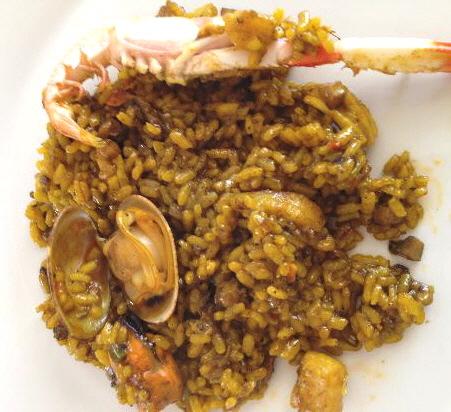 'La miglior paella mangiata in vita mia', según la opinión de Marino P., cliente de Montecarlo que ha subido esta foto.