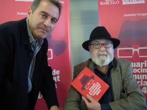 Pedro Tur y Antonio Vergara, en la presentación de la guía.